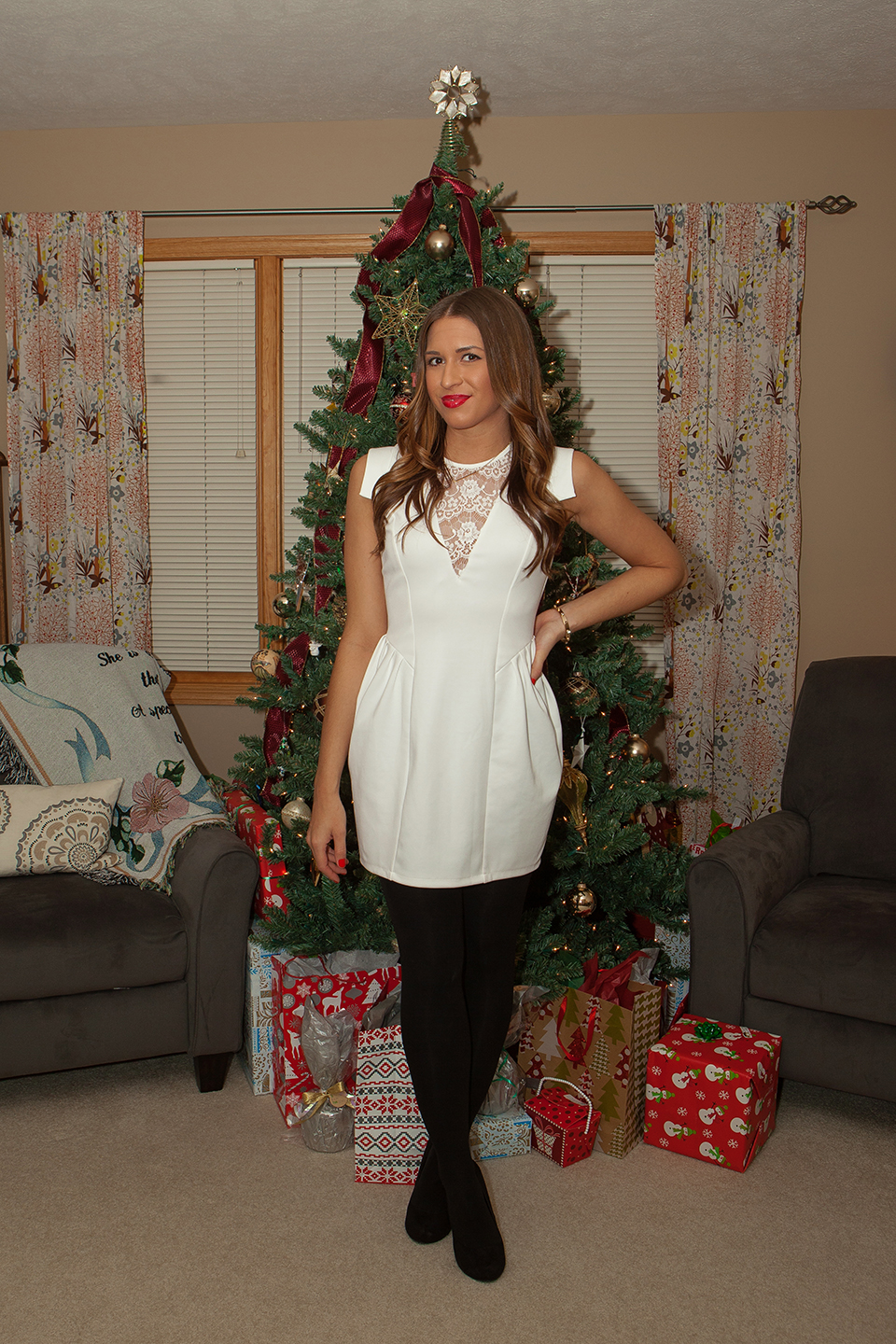 Christmas tree dress up images - Christmas Eve Has Always Been Fun For My Sister And I Because From A Fashion Point Of View We Get To Dress Up Ok Not Get To Dress Up Choose To Dress
